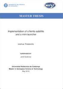 Thesis for the Master of Management in Finance and